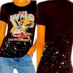 🆕Chaser The Who Live In Concert 82  Band Tee 🆓🎁